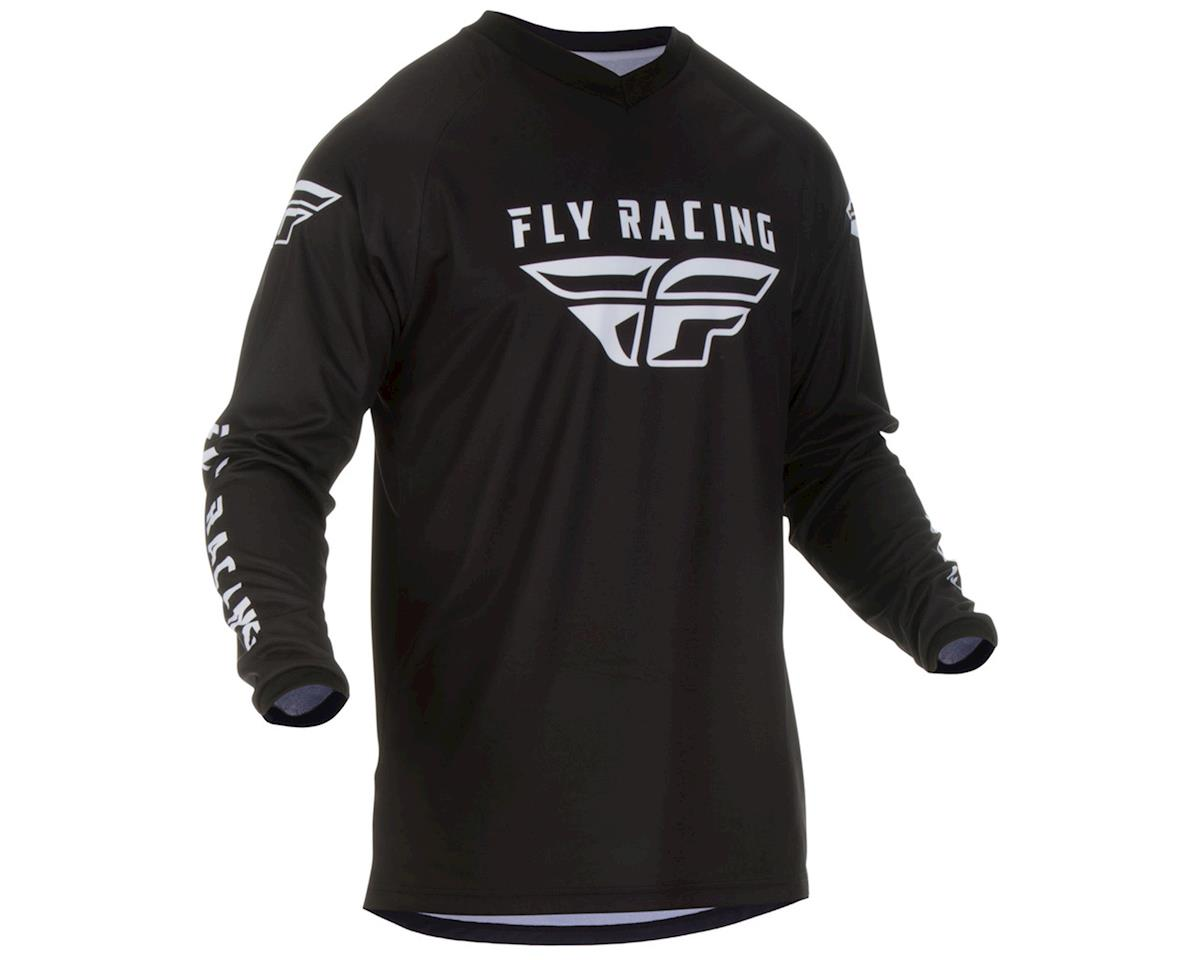 Fly Racing Universal Jersey (Black) (YXL)