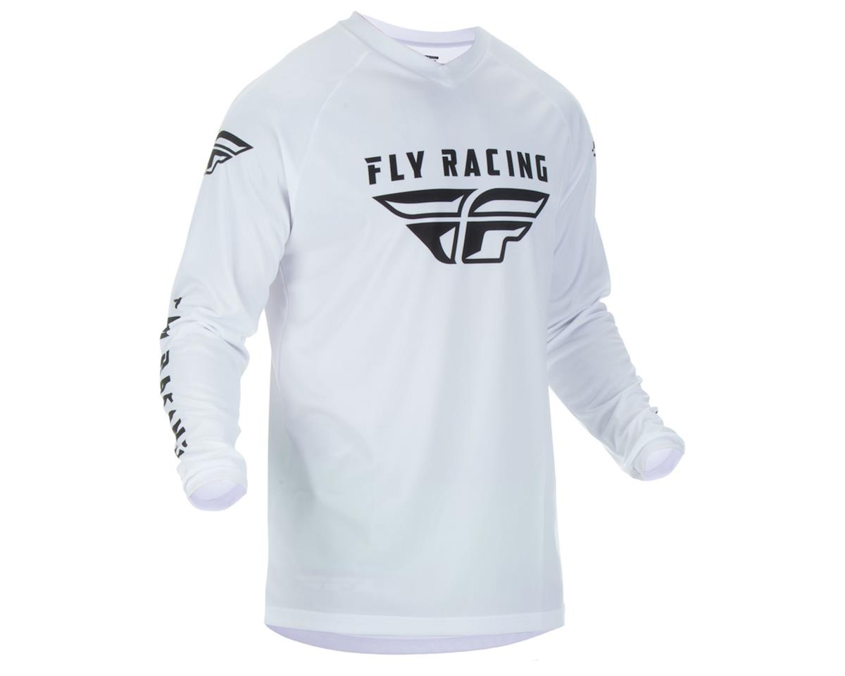 Fly Racing 2019 Universal Jersey (White) (YL)