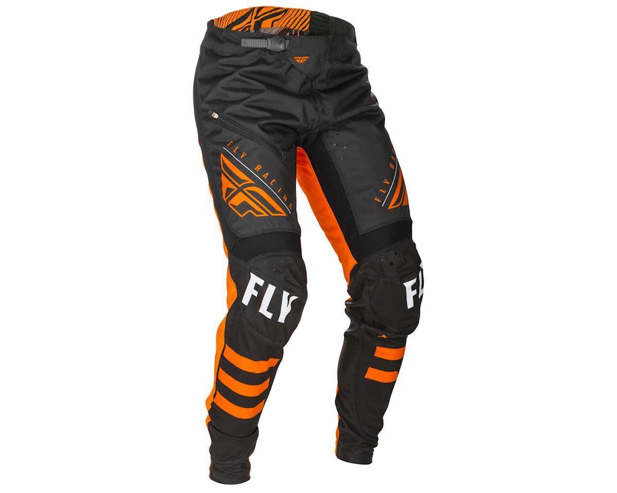 Image 1 for Fly Racing Kinetic Bicycle Pants (Black/Orange) (34)