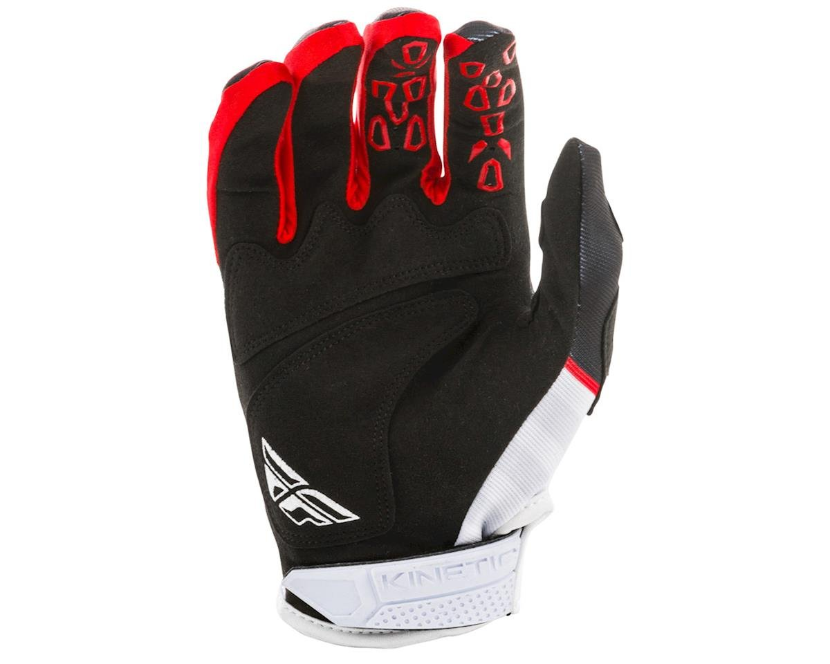 Image 2 for Fly Racing Kinetic K120 Gloves (Black/White/Red) (S)