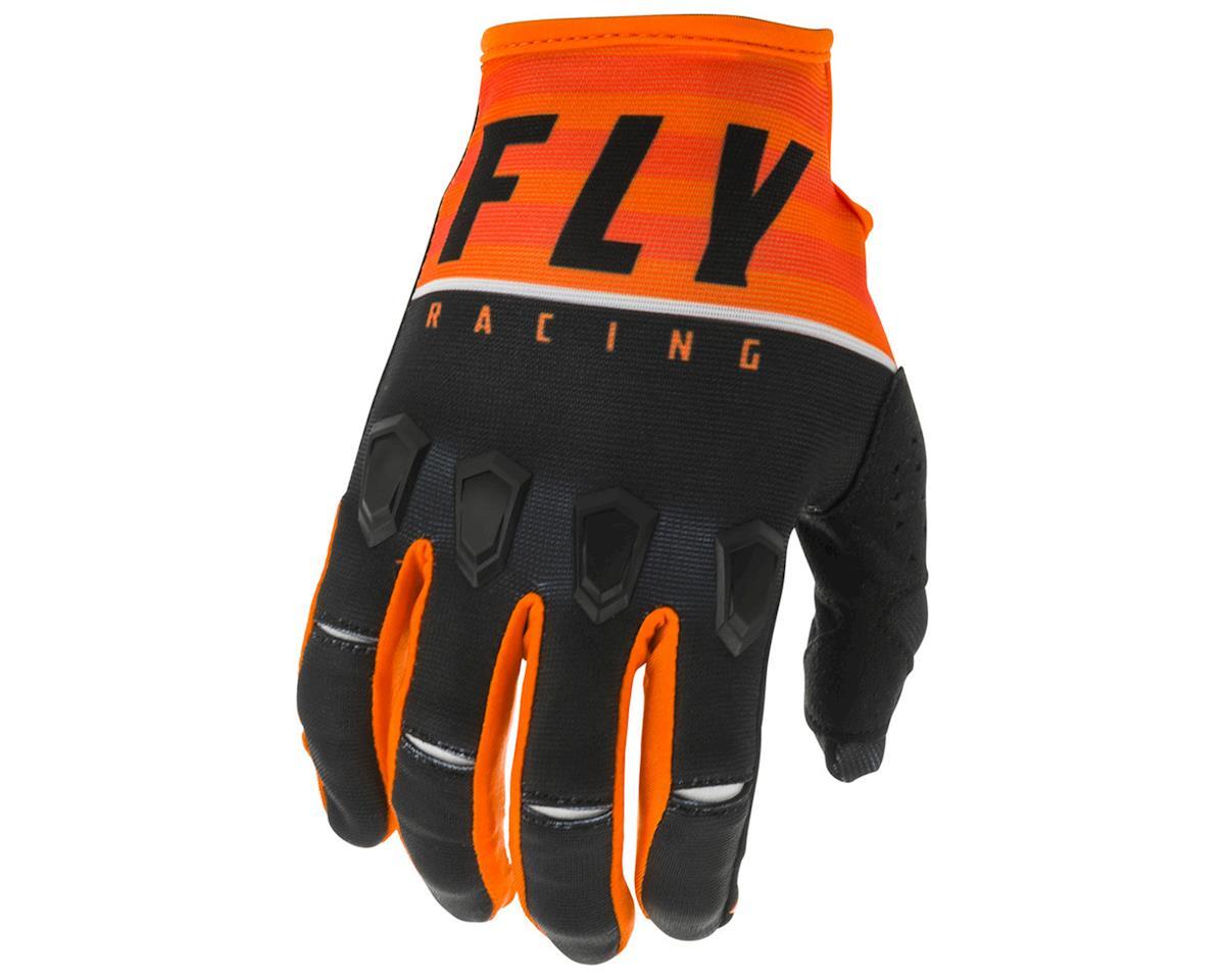 Image 1 for Fly Racing Kinetic K120 Gloves (Orange/Black/White) (L)
