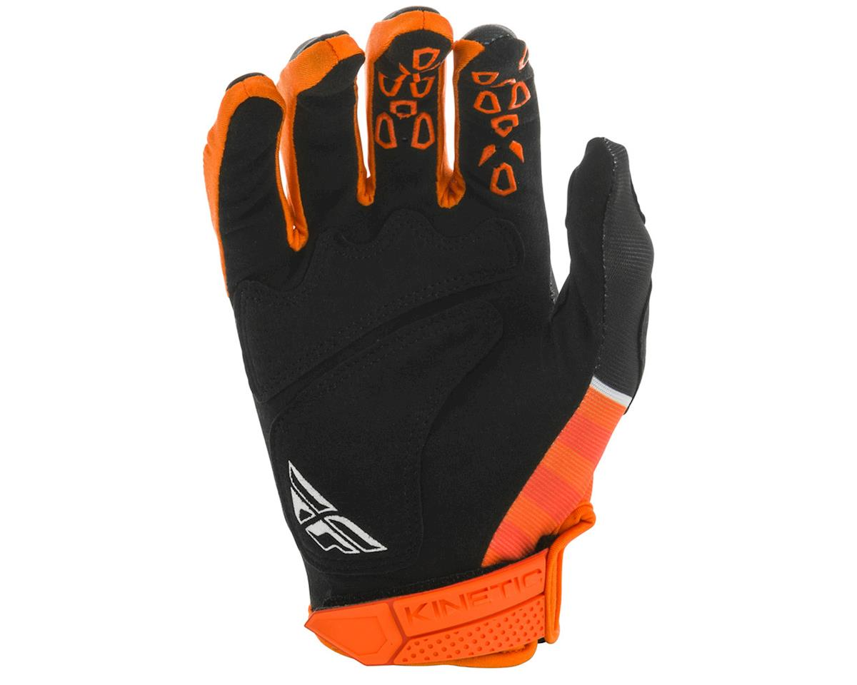 Image 2 for Fly Racing Kinetic K120 Gloves (Orange/Black/White) (XL)