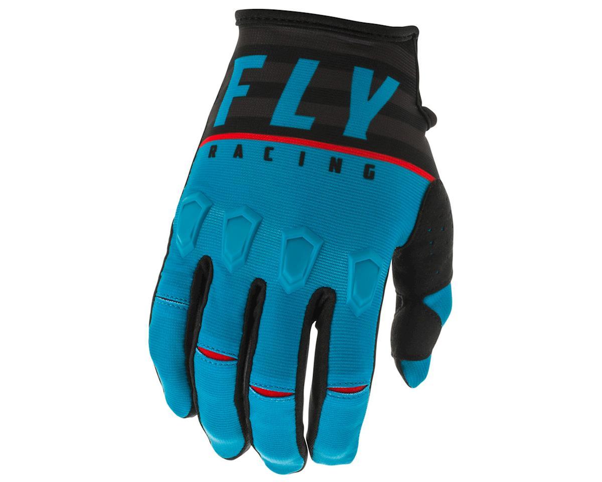 Fly Racing Kinetic K120 Gloves (Blue/Black/Red) (L)
