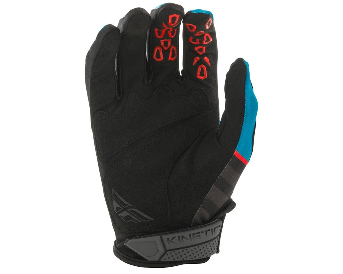 Image 2 for Fly Racing Kinetic K120 Gloves (Blue/Black/Red) (2XL)