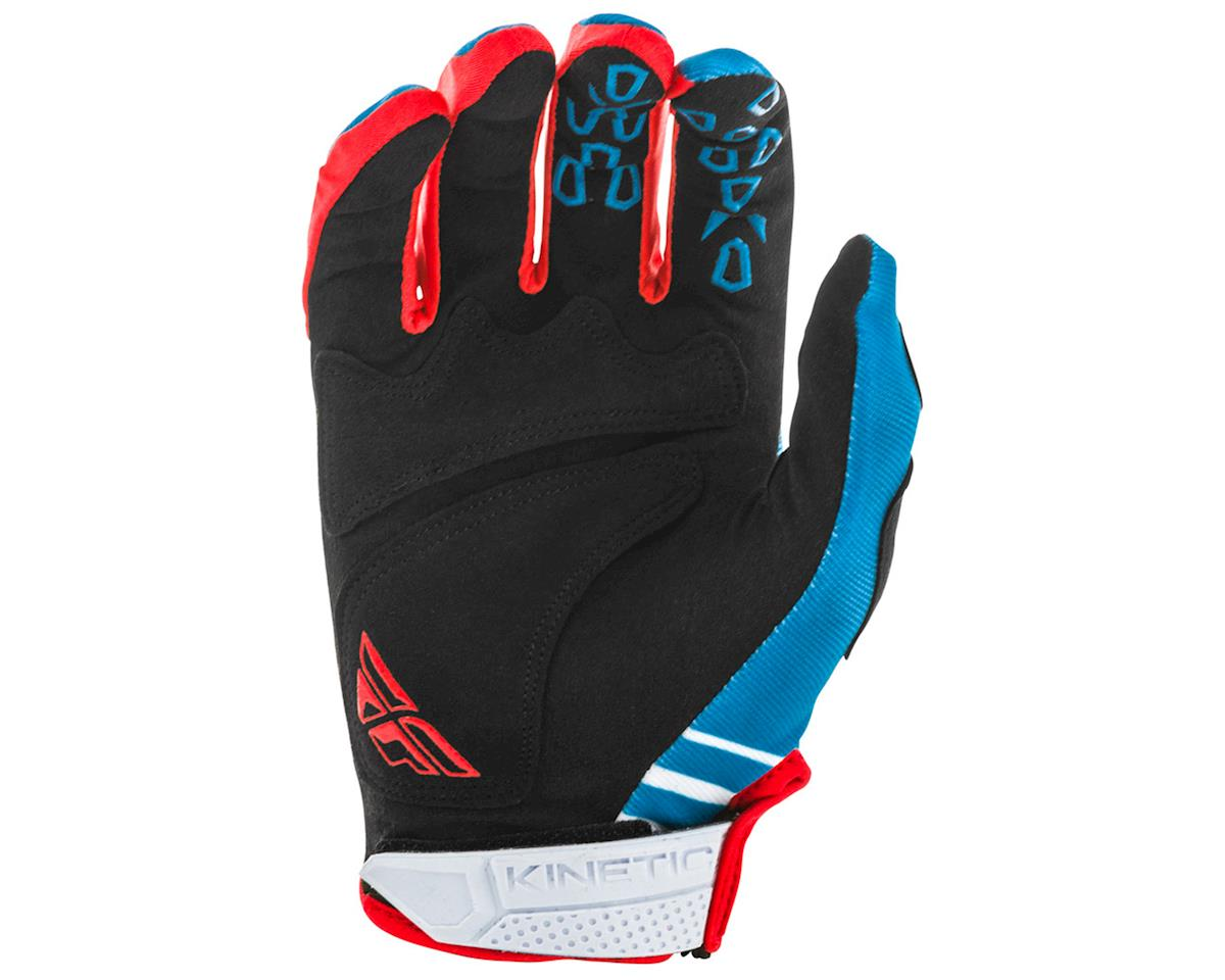 Fly Racing Kinetic K220 Gloves (Blue/White/Red) (YS)