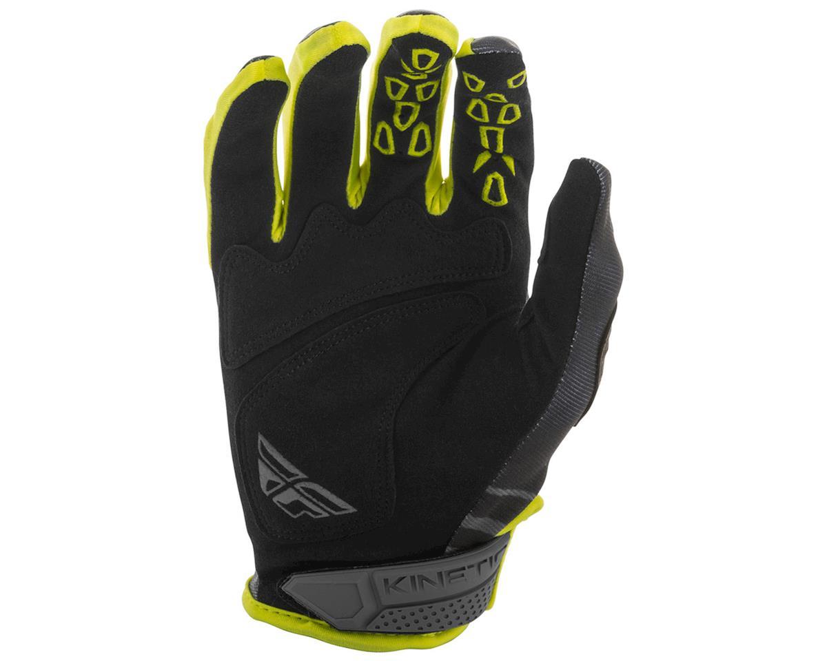 Fly Racing Kinetic K220 Gloves (Black/Grey/Hi-Vis) (2XL)