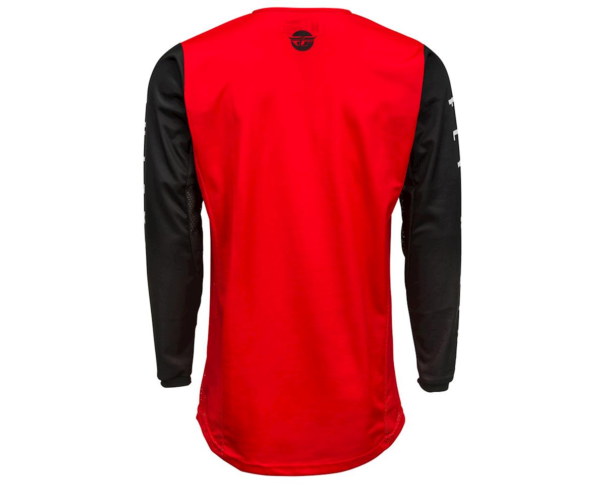 Image 2 for Fly Racing Kinetic K220 Jersey (Red/Black/White) (YL)