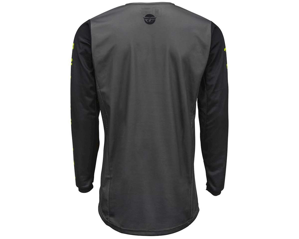 Fly Racing Kinetic K220 Jersey (Black/Grey/Hi-Vis) (YXS)