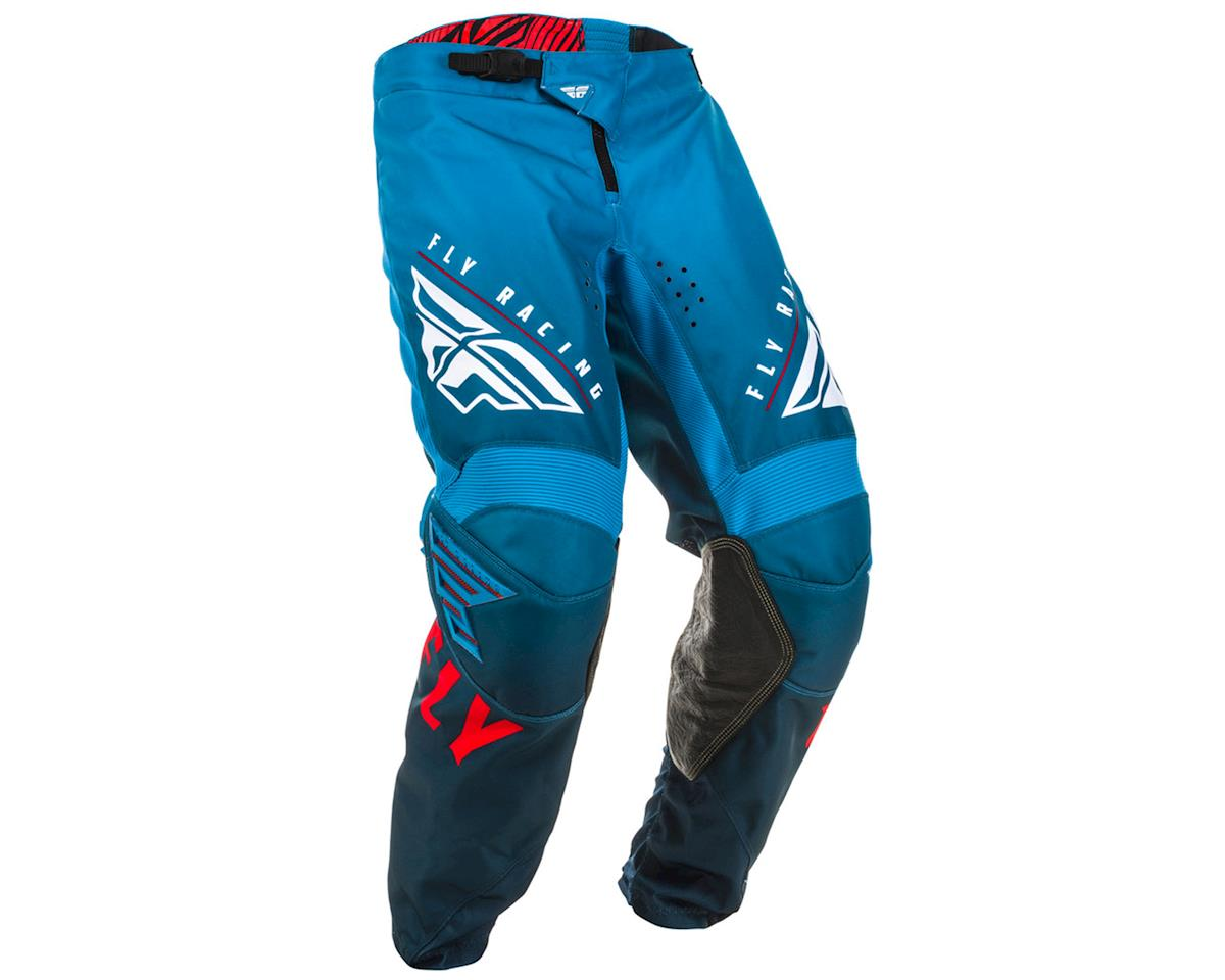 Fly Racing Kinetic K220 Pants (Blue/White/Red) (34)