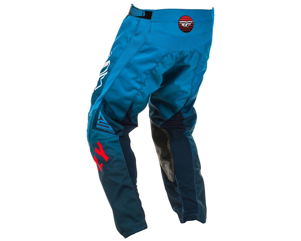 Image 2 for Fly Racing Kinetic K220 Pants (Blue/White/Red) (34)