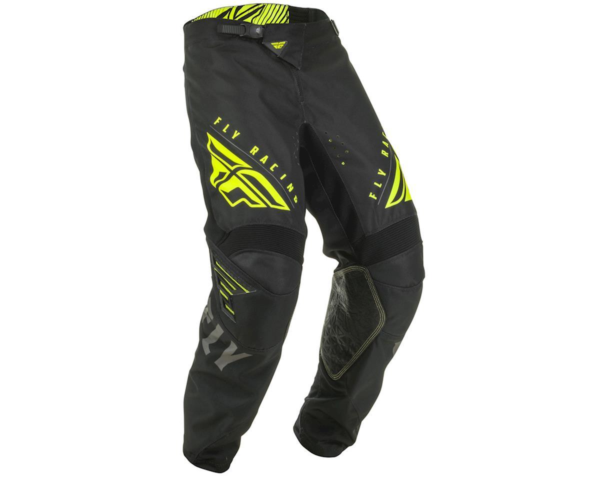 Fly Racing Kinetic K220 Pants (Black/Grey/Hi-Vis) (36)