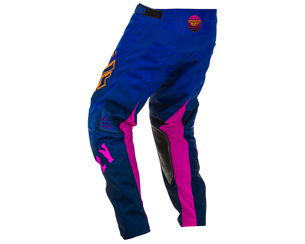 Image 2 for Fly Racing Kinetic K220 Pants (Midnight/Blue/Orange) (36)