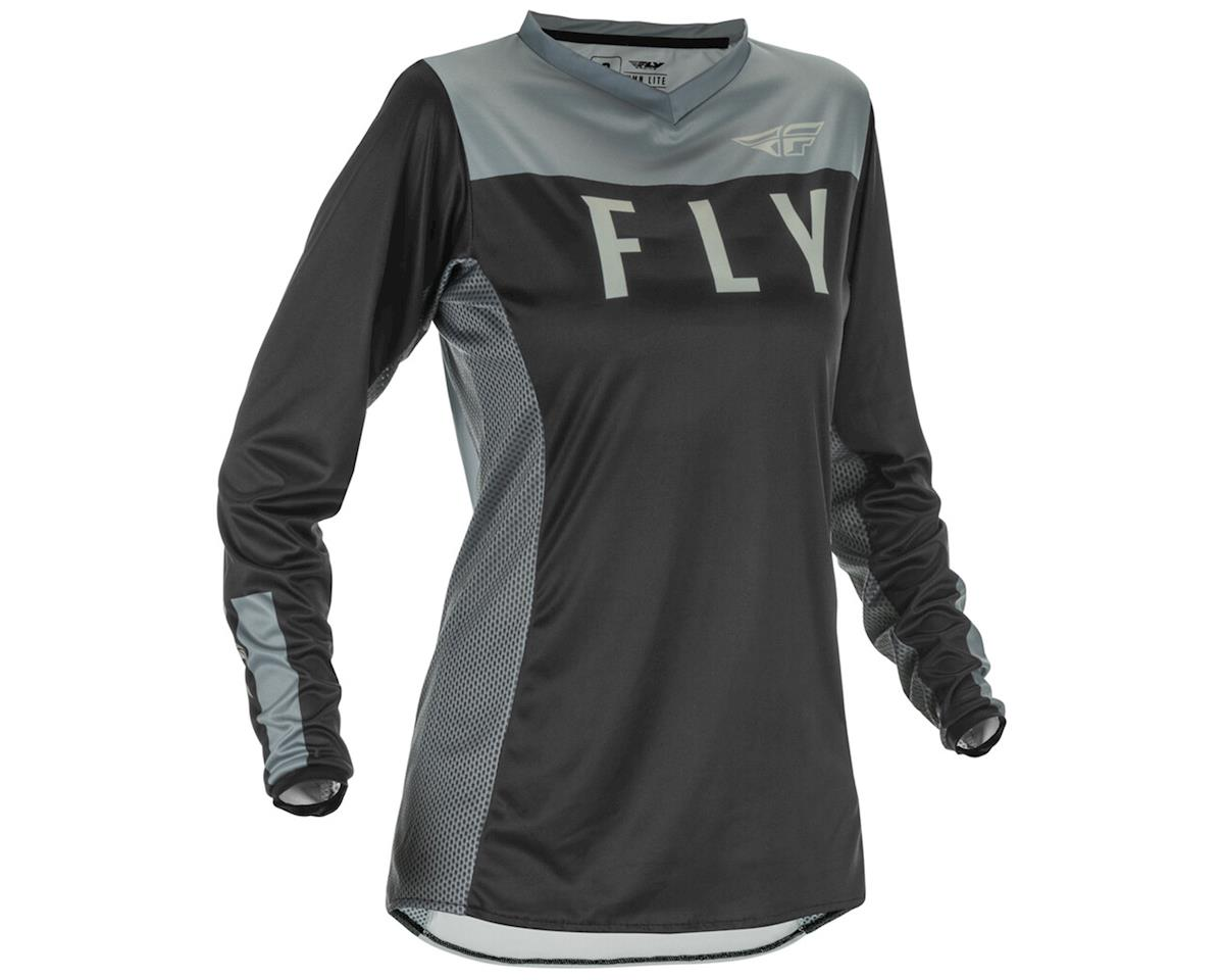 Image 1 for Fly Racing Women's Lite Jersey (Black/White) (M)