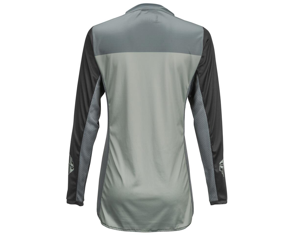 Fly Racing Women's Lite Jersey (Black/White) (M)
