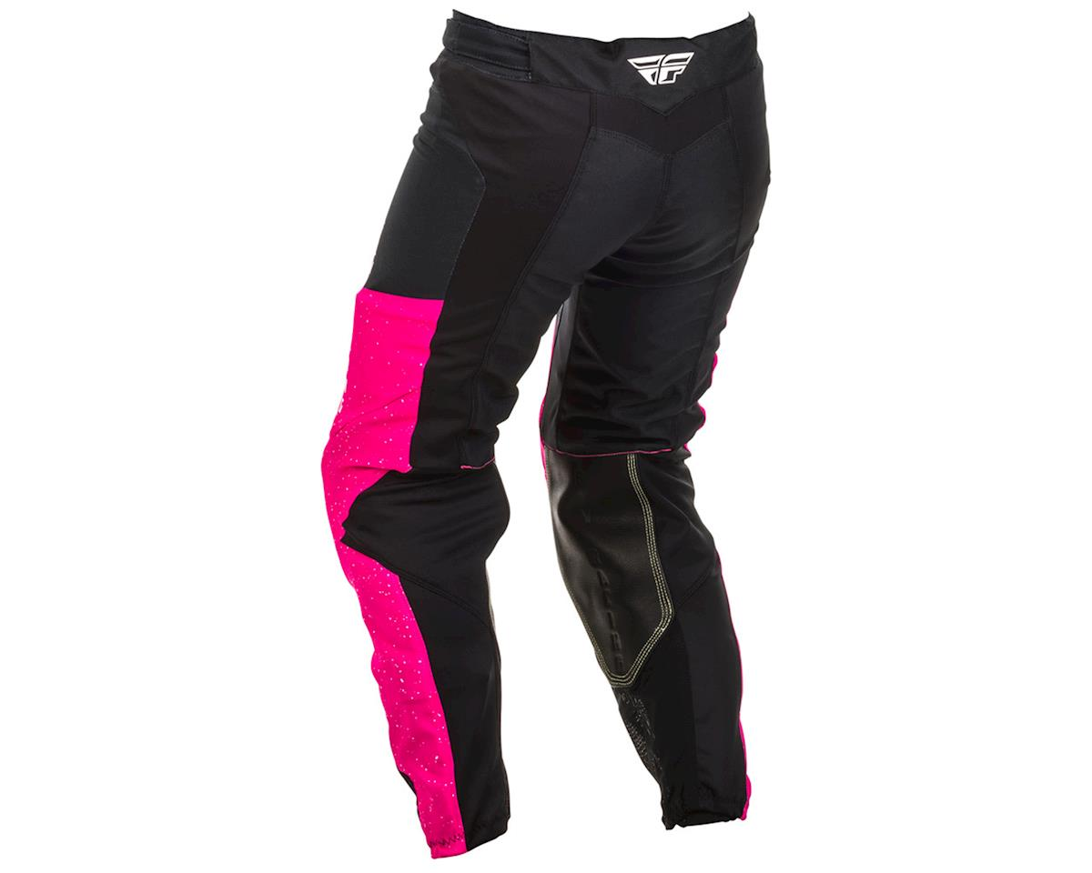 Fly Racing Women's Lite Pants (Neon Pink/Black) (20)