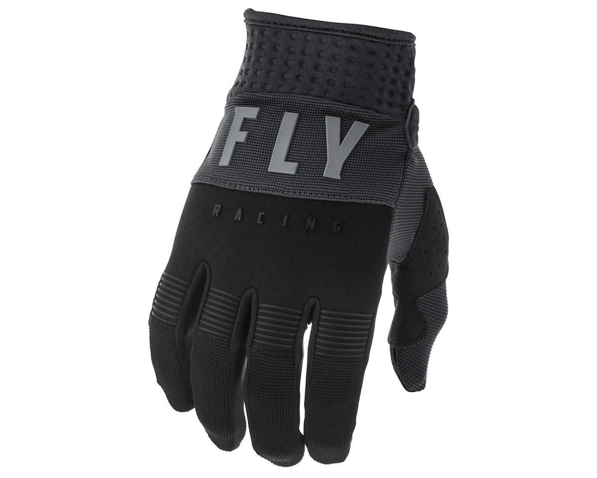 Fly Racing F-16 Gloves (Black/Grey) (YL)