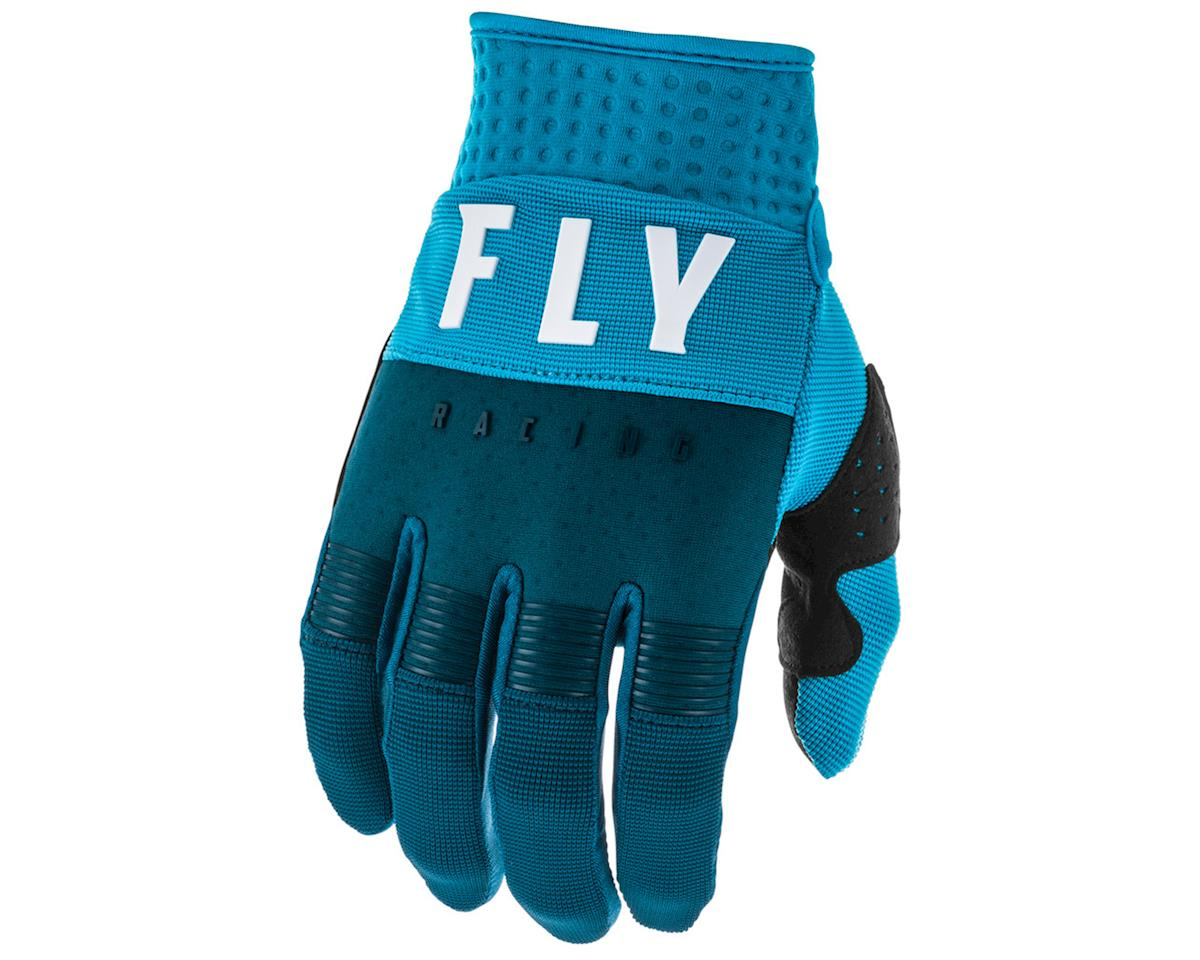 Fly Racing F-16 Gloves (Navy/Blue/White) (YXS)