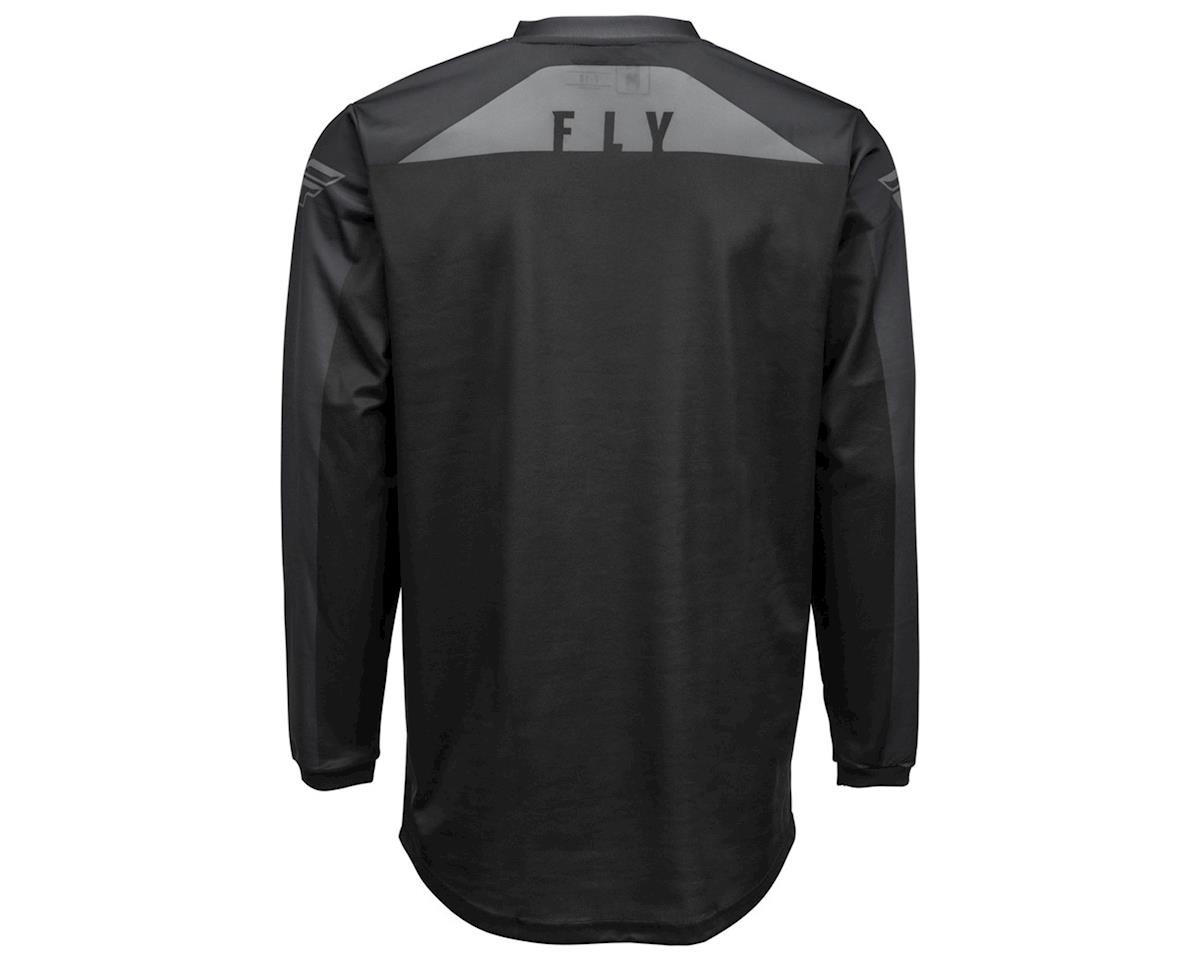 Fly Racing F-16 Jersey (Black/Grey) (YXS)