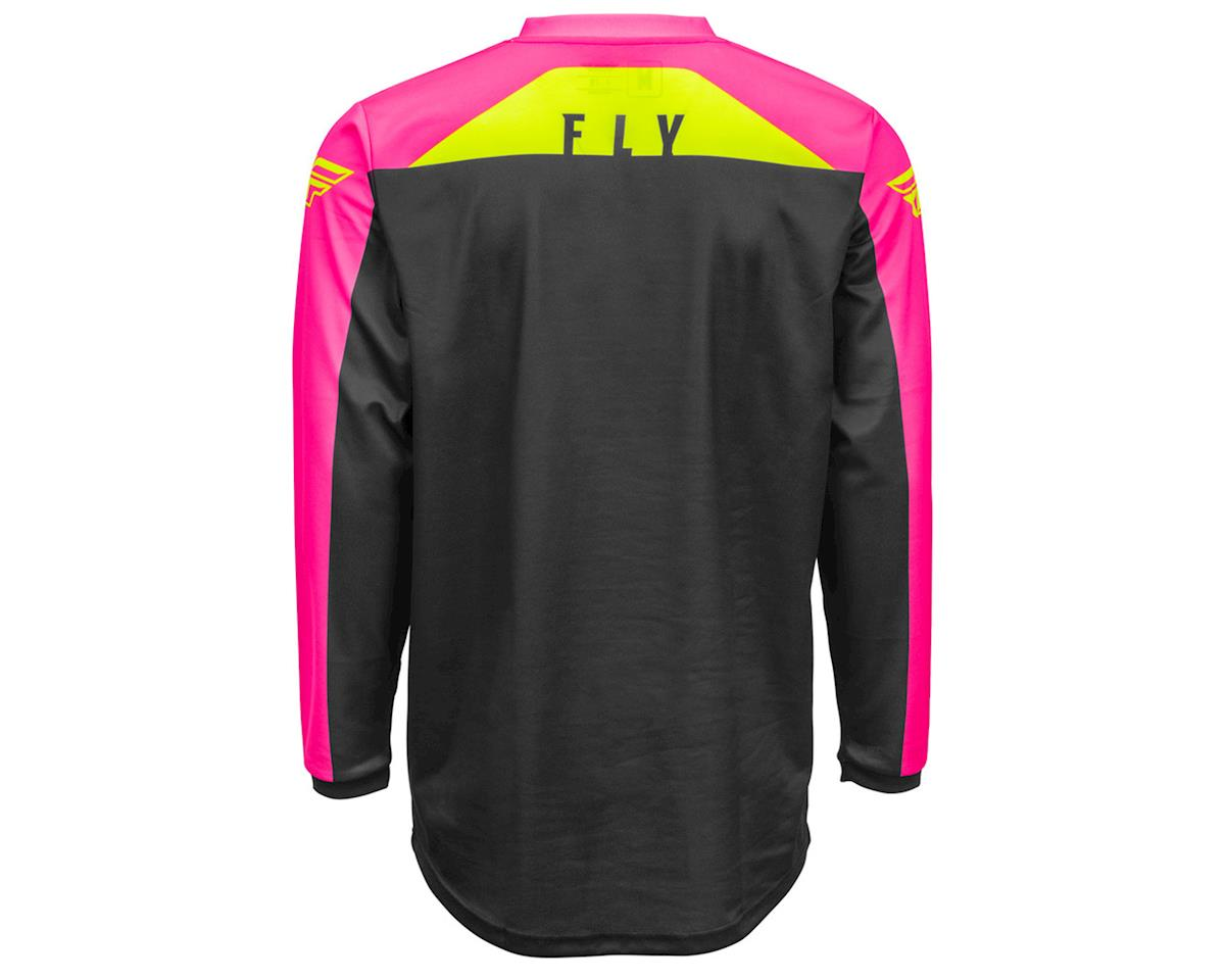 Image 2 for Fly Racing F-16 Jersey (Neon Pink/Black/Hi-Vis) (XL)