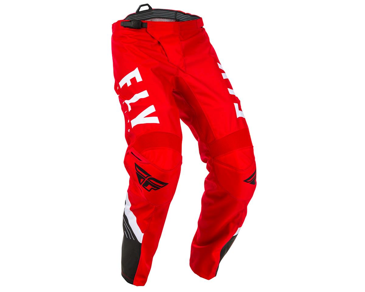 Image 1 for Fly Racing F-16 Pants (Red/Black/White) (30)