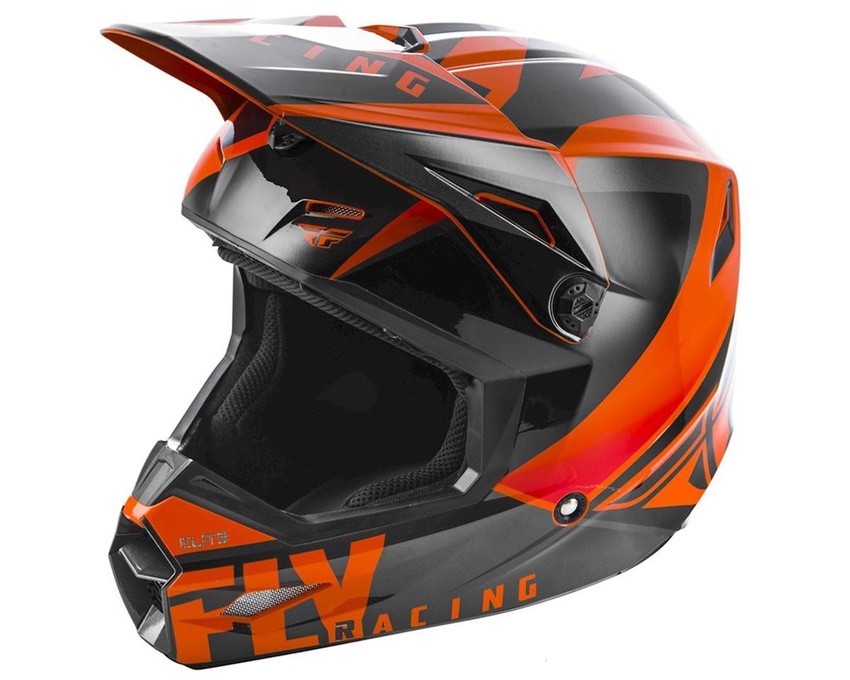 Fly Racing 2019 Elite Vigilant Youth Helmet (Orange/Black) (Kids L)