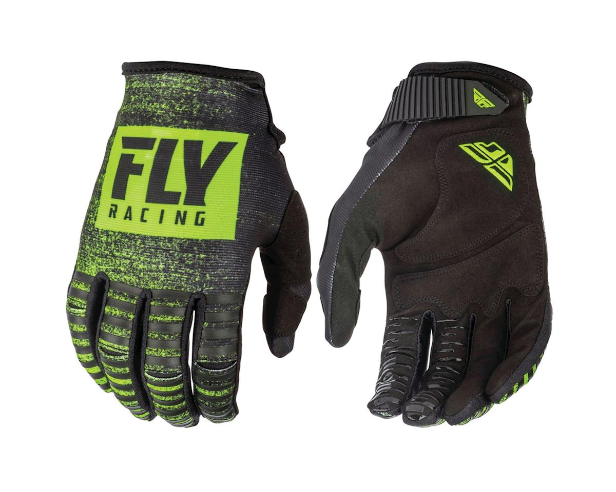 Fly Racing 2019 Kinetic Noiz Gloves (Black/Hi Vis)