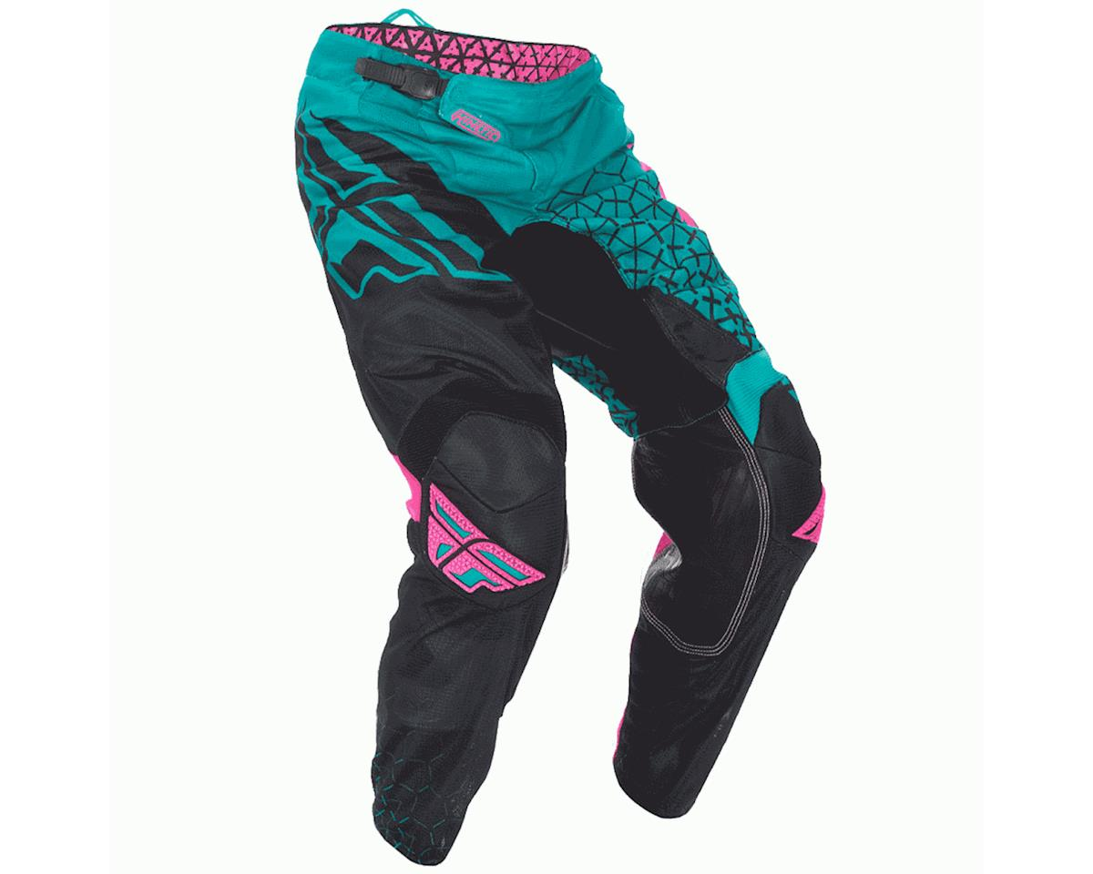 Fly Racing Fly 2016.5 Kinetic Trifecta Mesh Pants (Teal/Pink/Black)