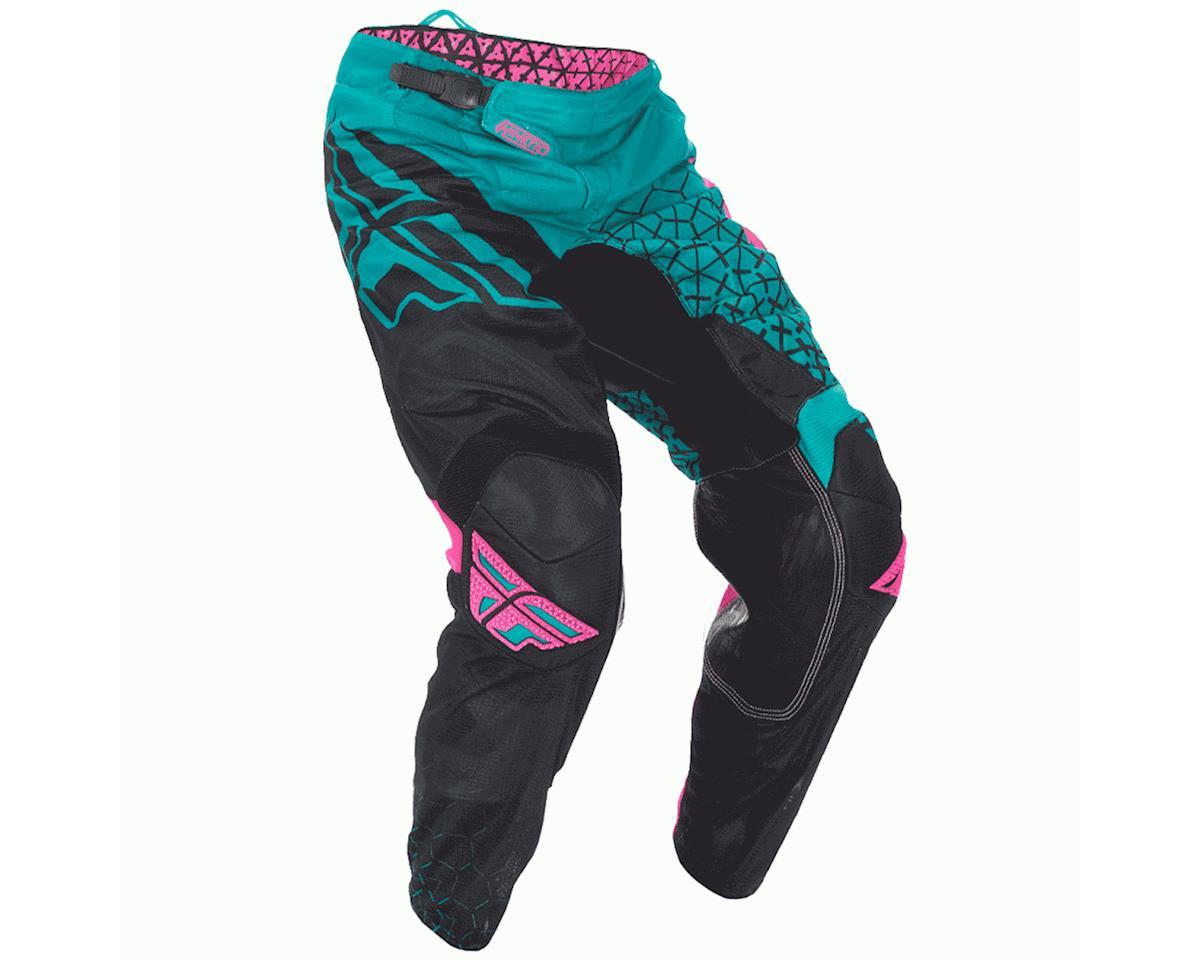 Fly Racing 2016.5 Kinetic Trifecta Mesh Pants (Teal/Pink/Black) (26)