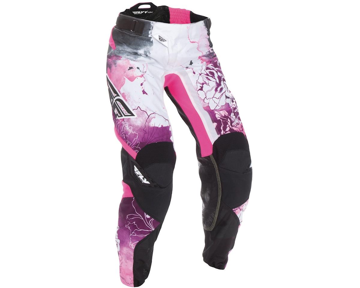 Fly Racing 2017 Kinetic Womens Pants (Pink/Purple)