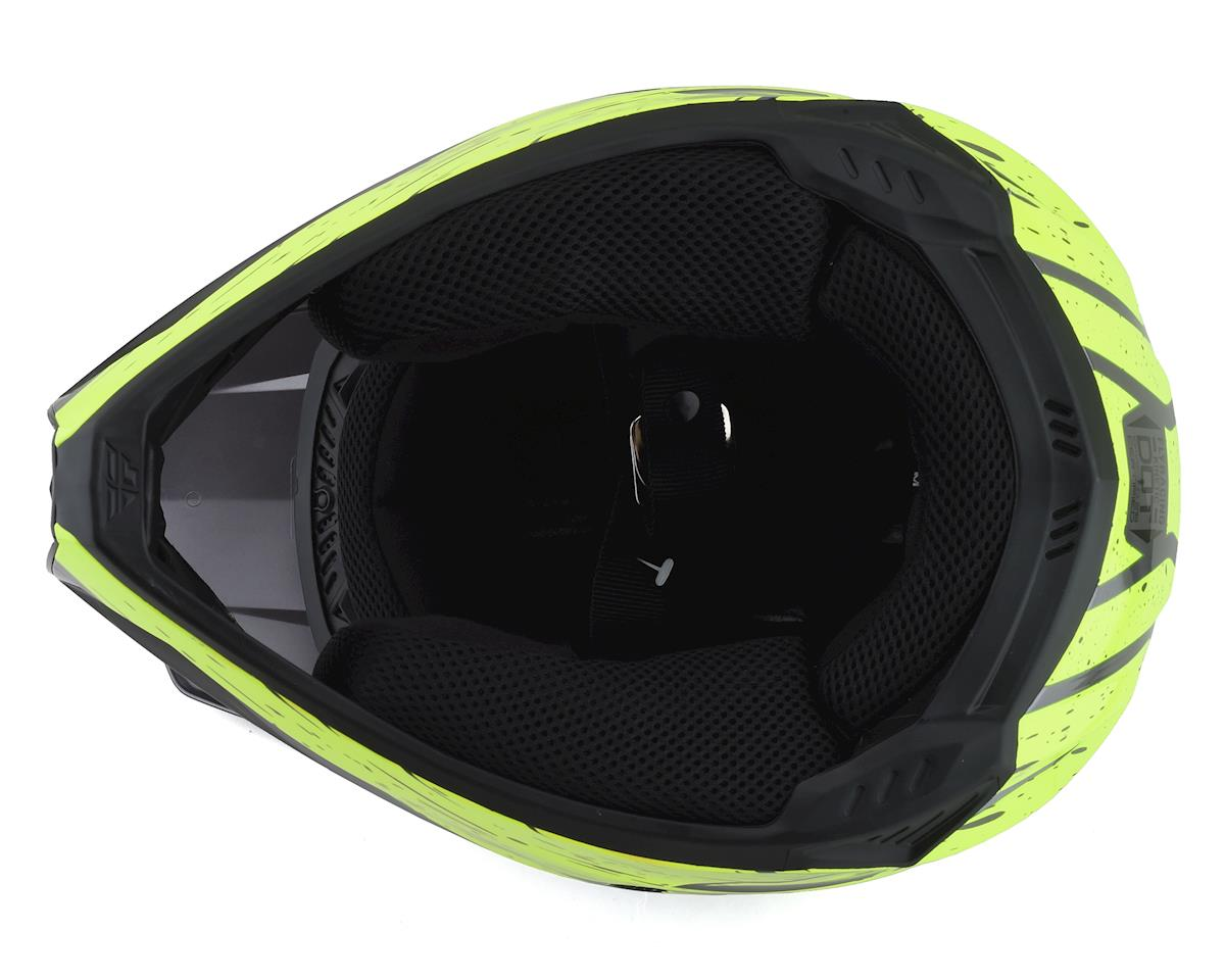 Image 3 for Fly Racing Kinetic K120 Helmet (Hi-Vis/Grey/Black) (S)