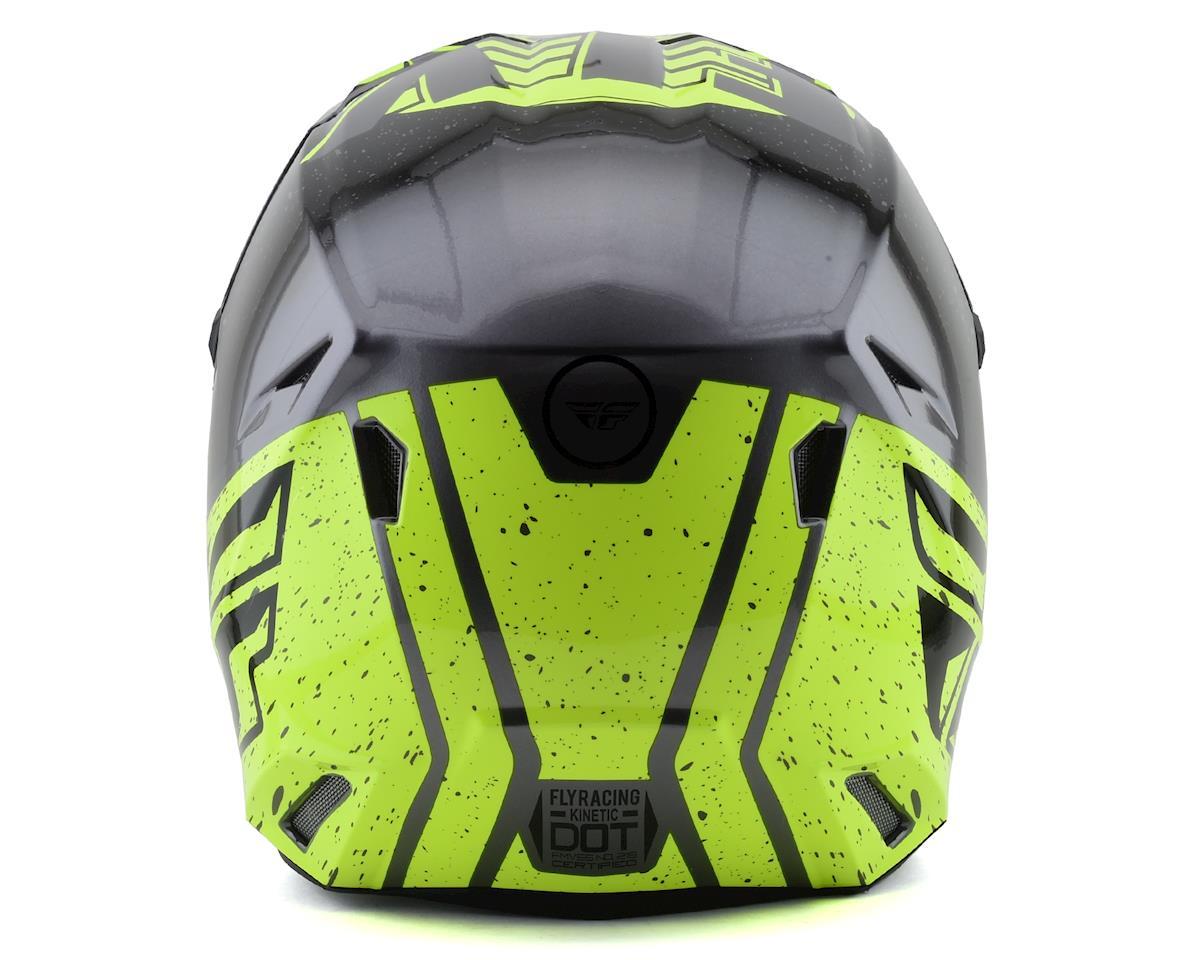 Fly Racing Kinetic K120 Youth Helmet (Hi-Vis/Grey/Black) (Kids S)