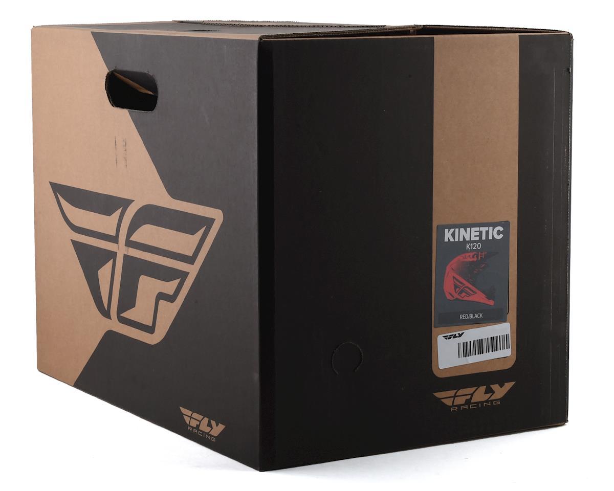 Fly Racing Kinetic K120 Helmet (Red/Black) (M)