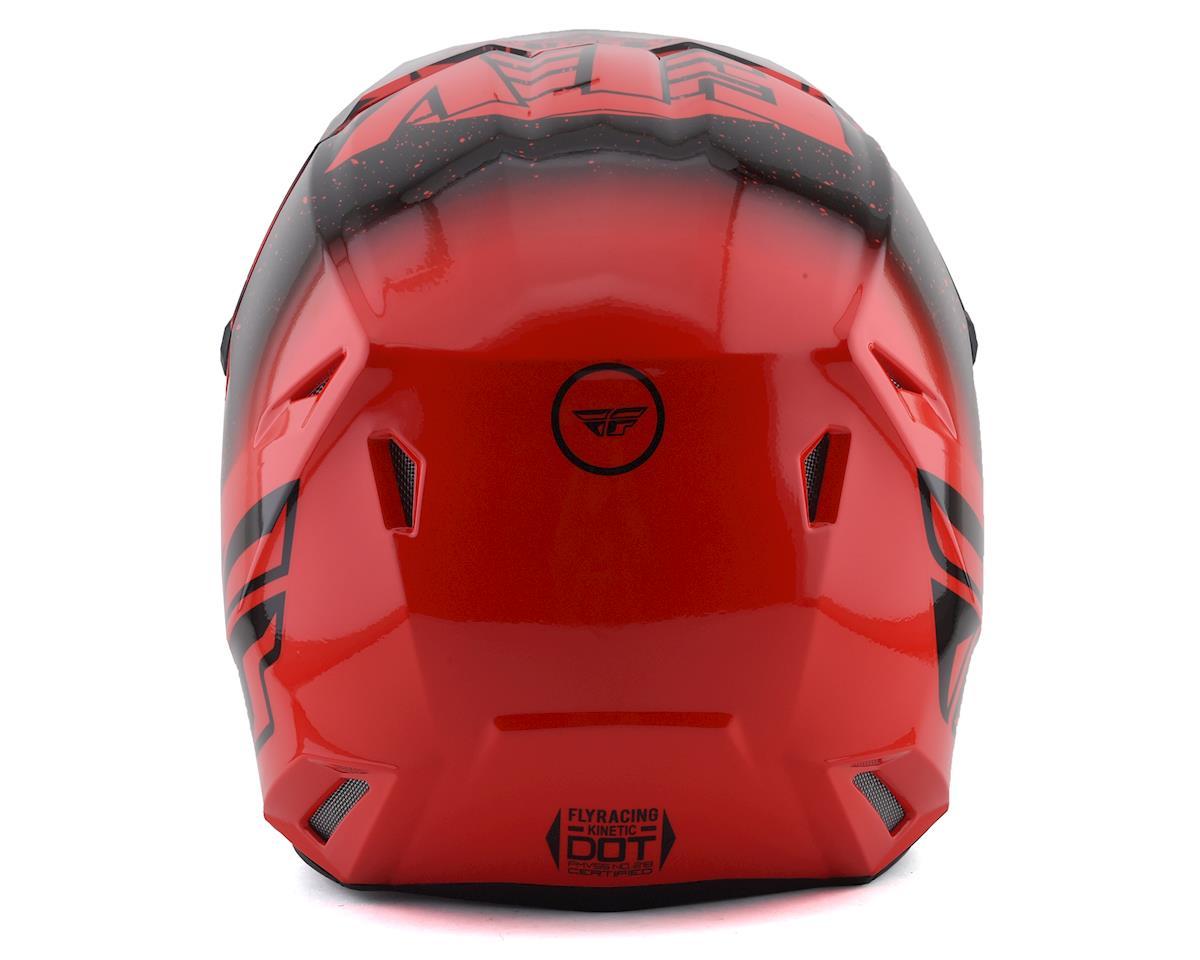 Fly Racing Kinetic K120 Youth Helmet (Red/Black) (Kids S)