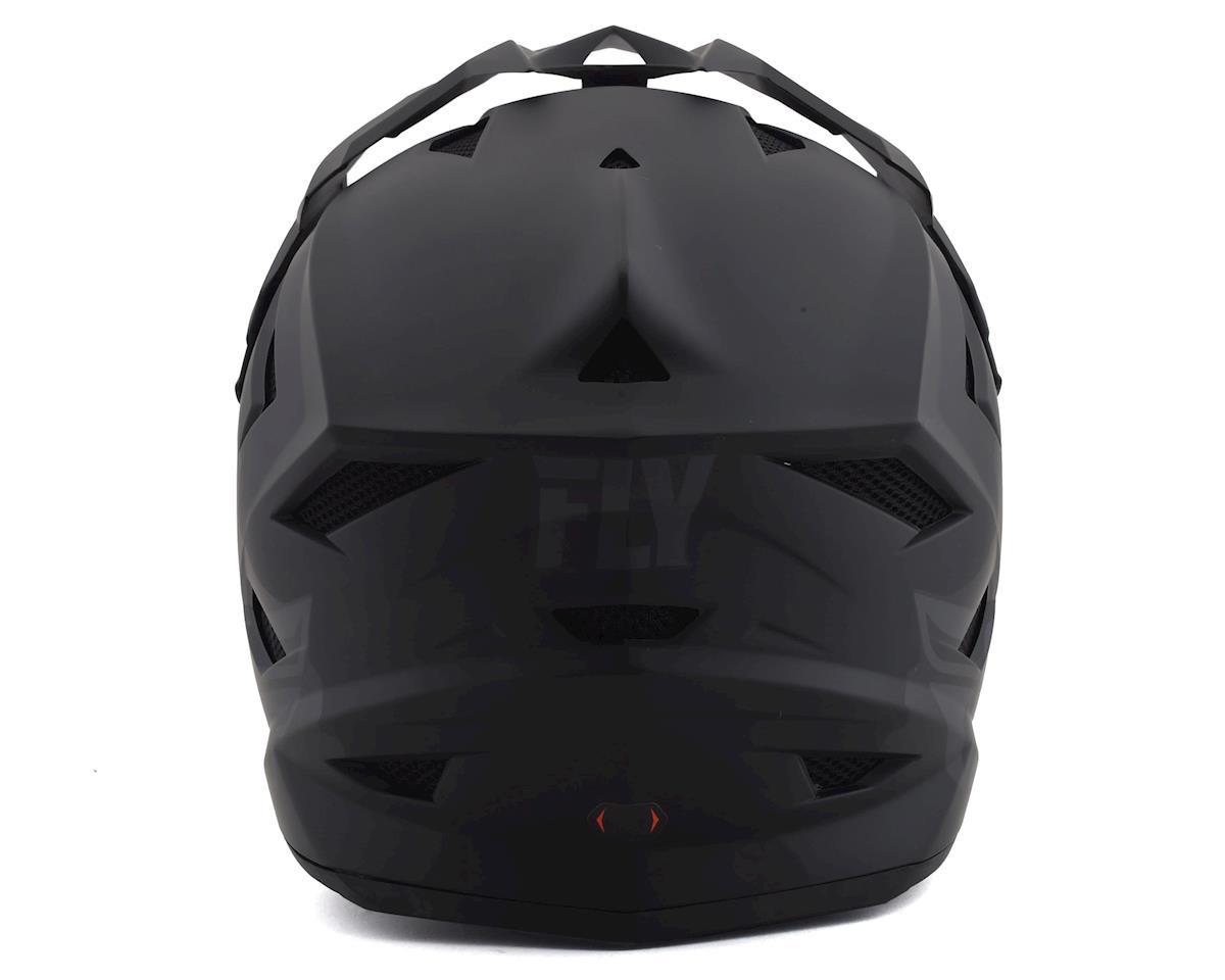 Image 2 for Fly Racing Default Full Face Mountain Bike Helmet (Matte Black/Grey) (Kids M)