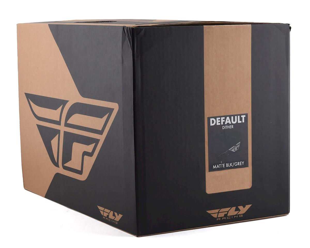 Image 4 for Fly Racing Default Full Face Mountain Bike Helmet (Matte Black/Grey) (Kids M)