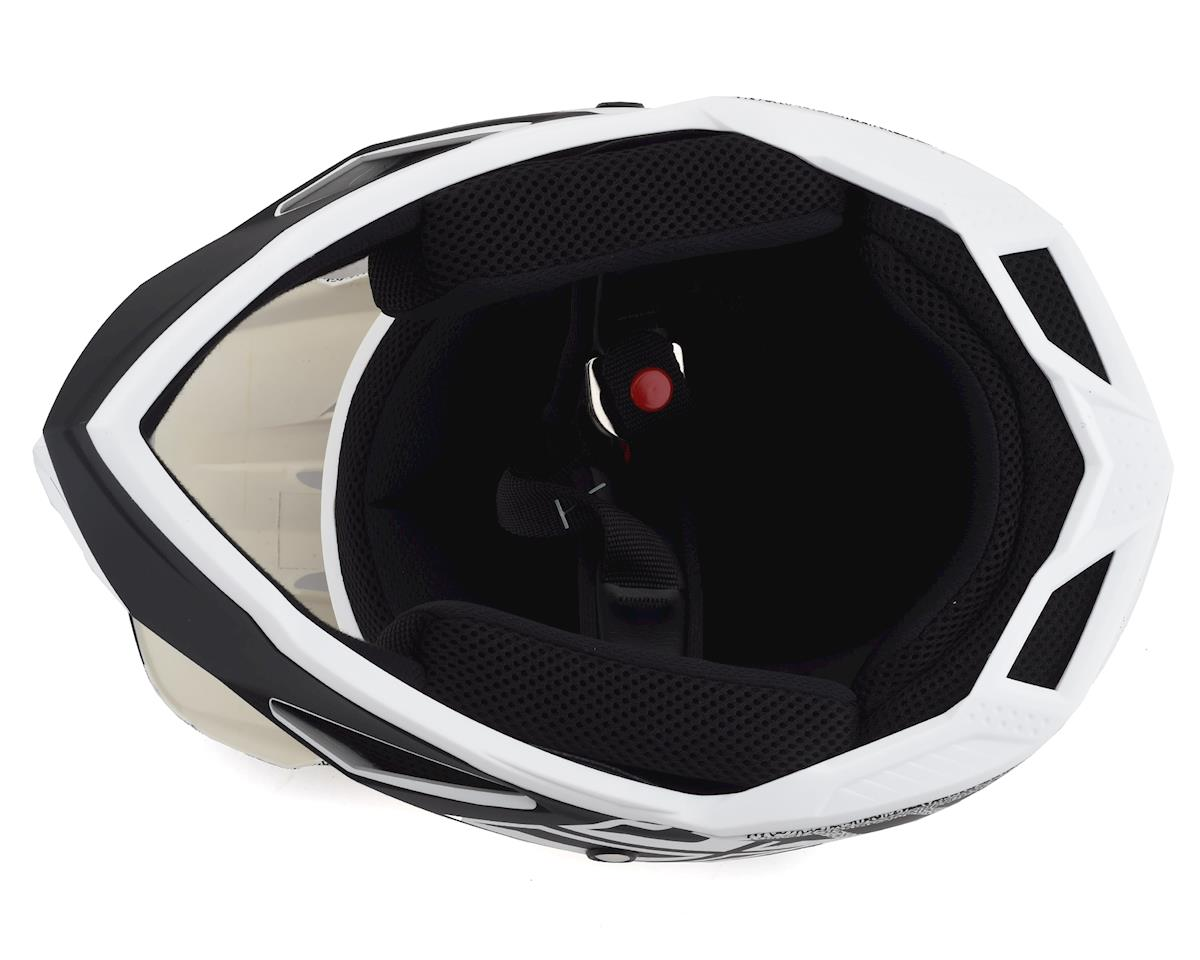 Fly Racing Default Full Face Mountain Bike Helmet (Matte White/Black) (L)