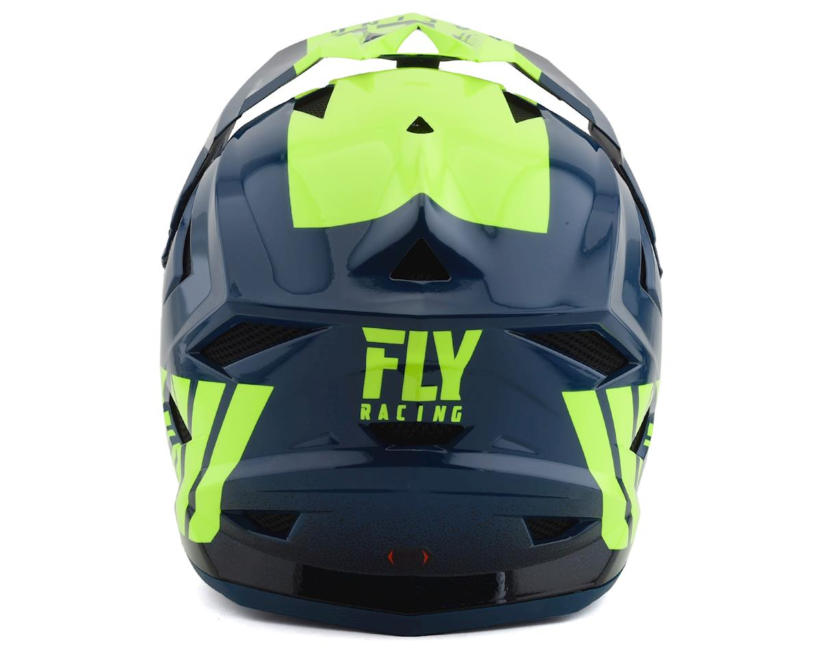 Fly Racing Default Full Face Mountain Bike Helmet (Teal/Hi-Vis Yellow) (Kids L)
