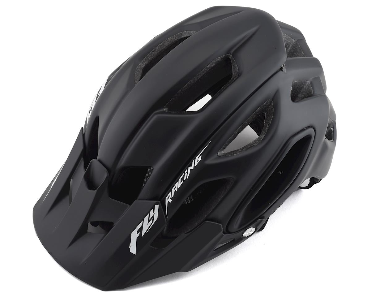 Fly Racing Freestone Mountain Bike Helmet (Matte Black) (M/L)