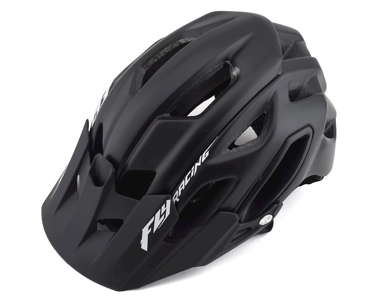 Fly Racing Freestone Mountain Bike Helmet (Matte Black) (XL/XXL)