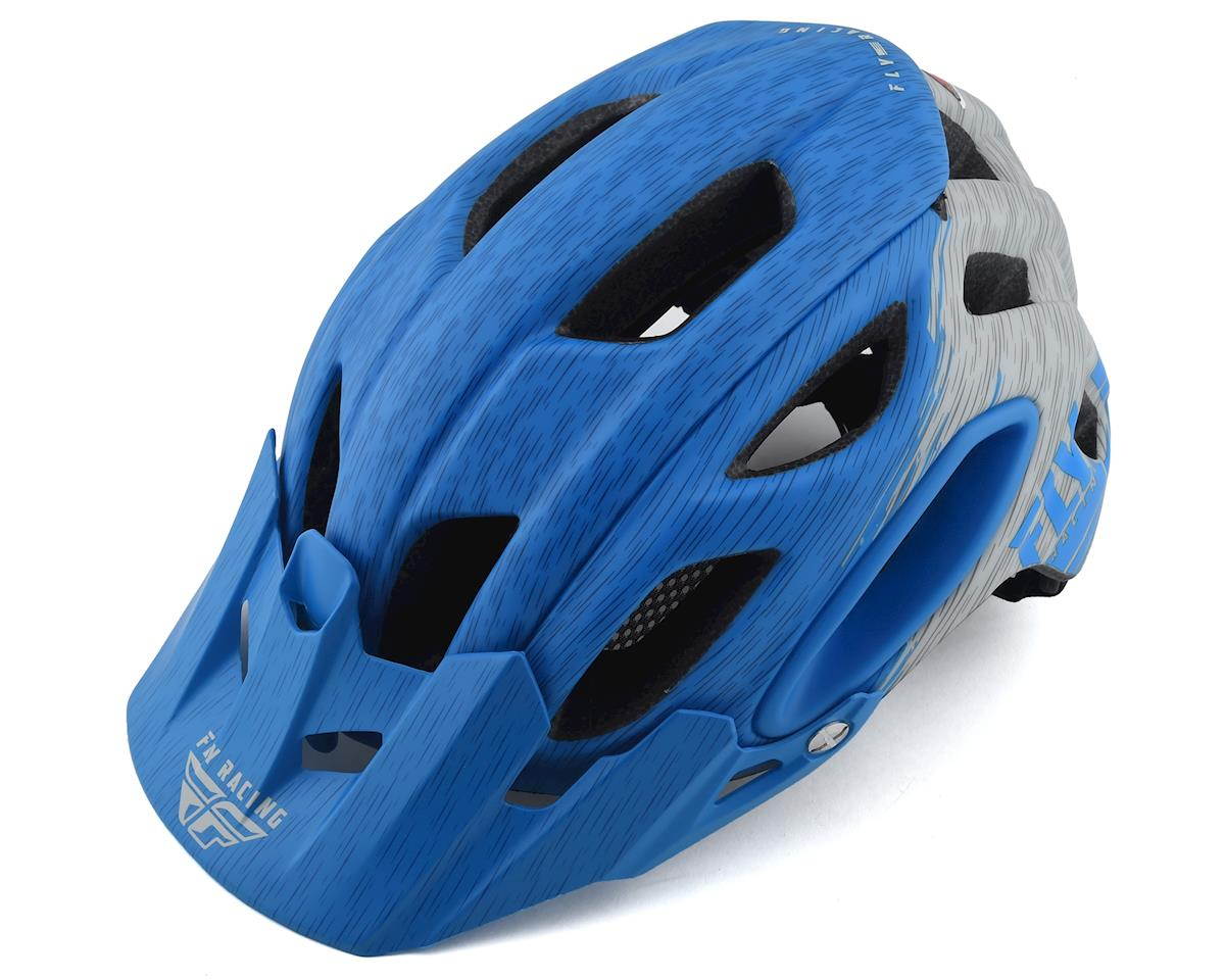 Fly Racing Freestone Ripa Helmet (Matte Blue/Grey) (M/L)