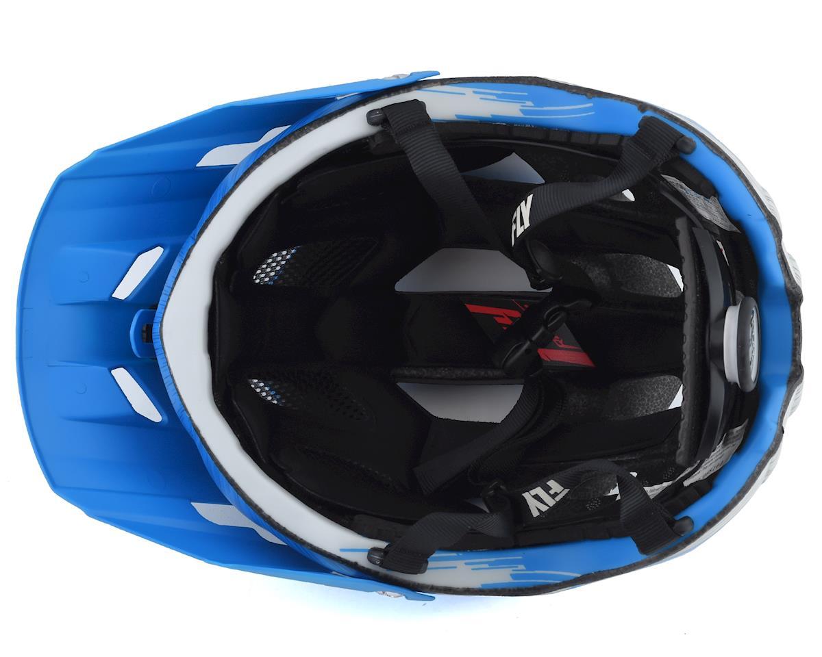 Image 3 for Fly Racing Freestone Ripa Helmet (Matte Blue/Grey) (M/L)