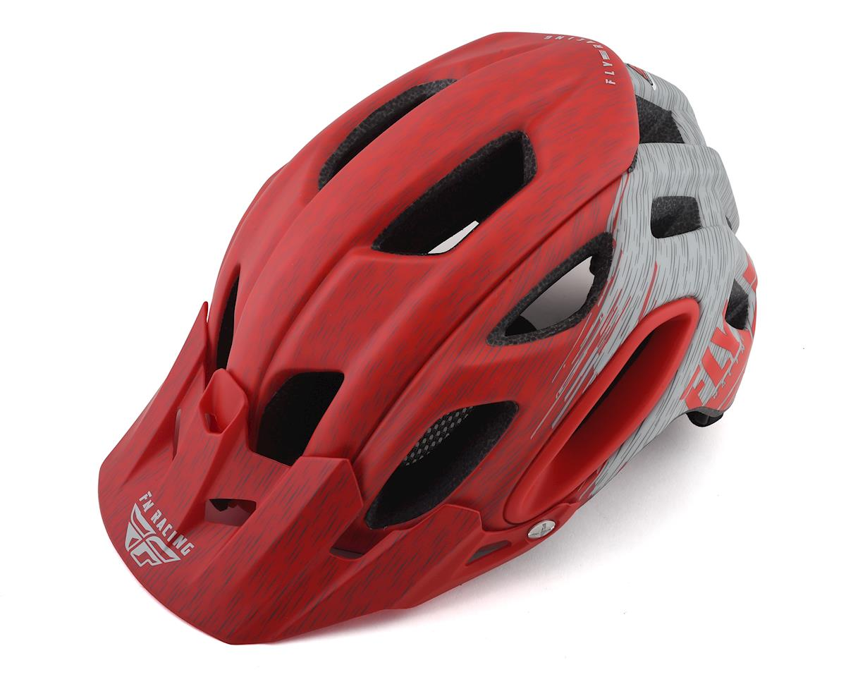 Fly Racing Freestone Ripa Helmet (Matte Red/Grey) (M/L)