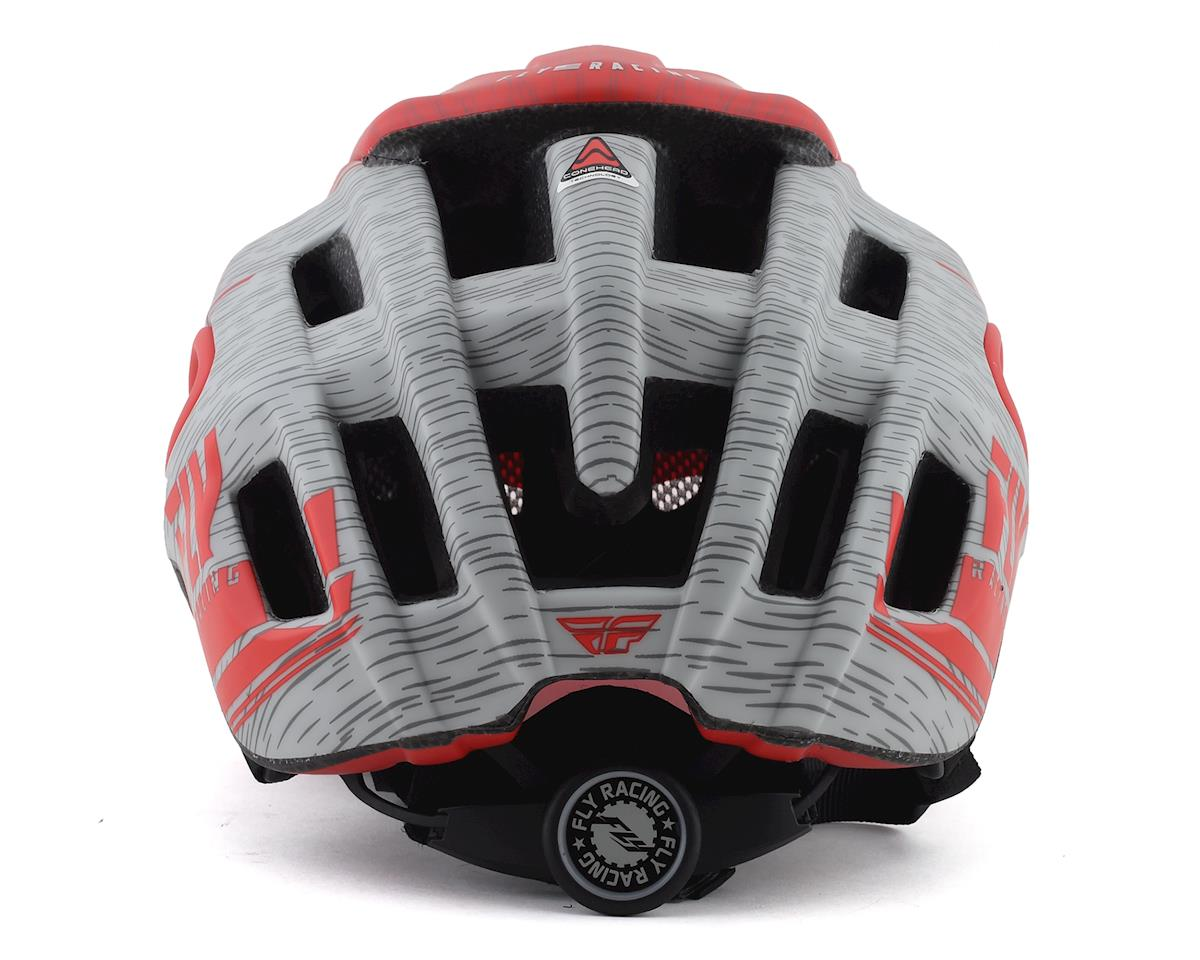 Image 2 for Fly Racing Freestone Ripa Helmet (Matte Red/Grey) (M/L)