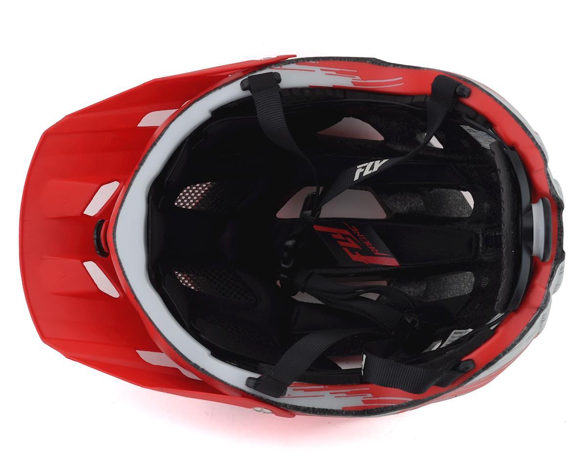 Image 3 for Fly Racing Freestone Ripa Helmet (Matte Red/Grey) (M/L)