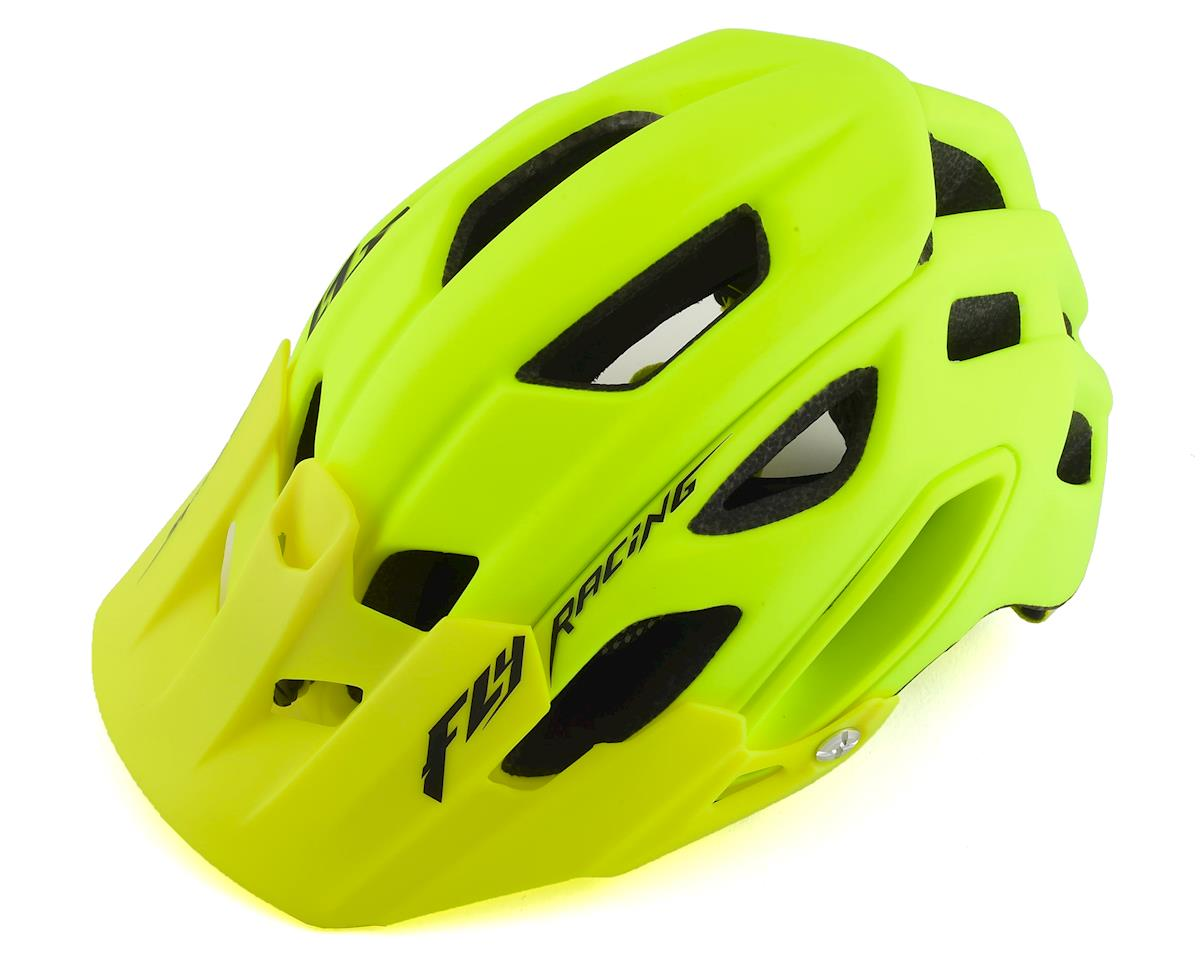 Fly Racing Feestone Mountain Bike Helment (Matte Hi-Viz) (M/L)