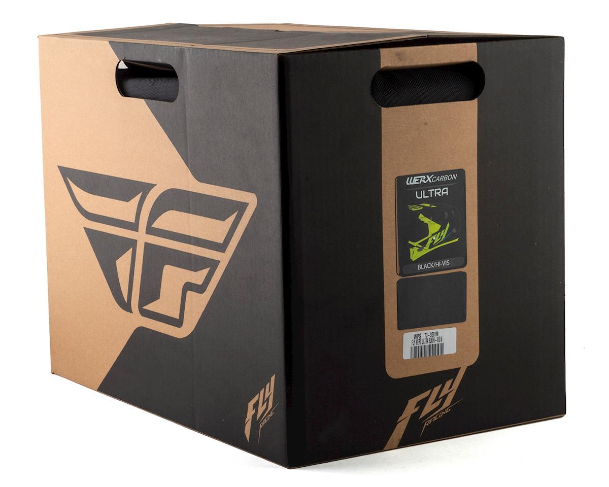 Fly Racing Werx Carbon Full-Face Helmet (Ultra) (Black/Hi-Vis Yellow) (M)