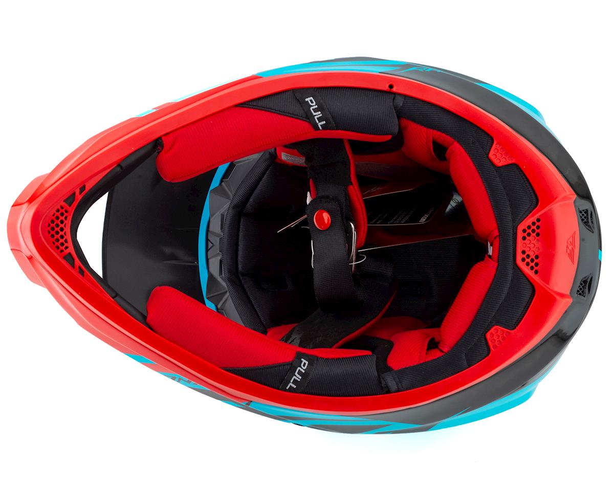 Fly Racing Werx Carbon Full-Face Helmet (Ultra) (Blue/Red/Black) (L)