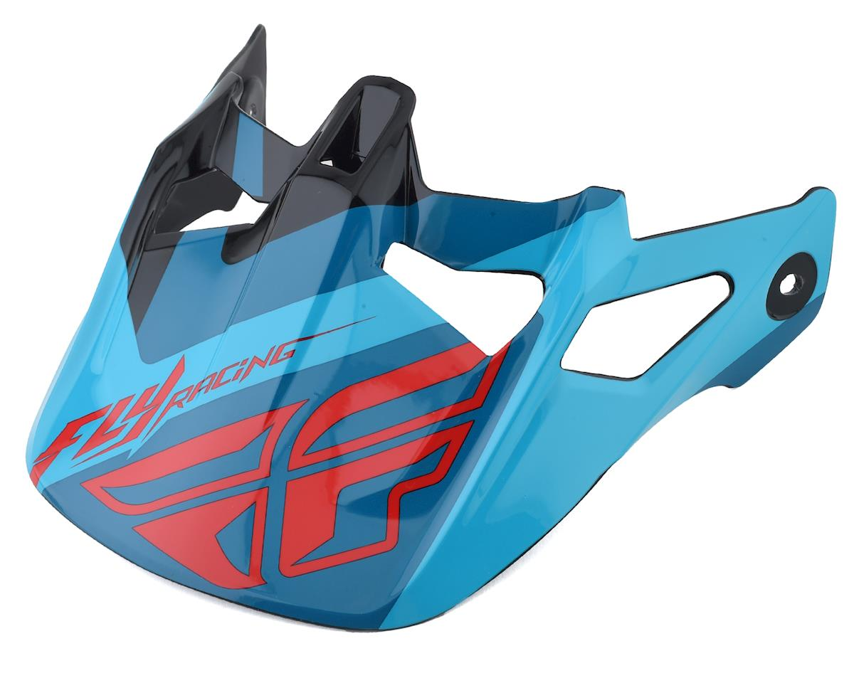 Fly Racing Werx Helmet Visor (Ultra) (Red/Bluee/Black)