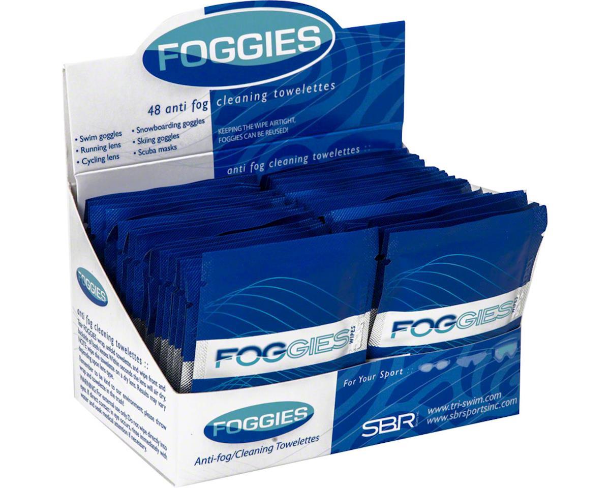 Foggle Foggies Anti-Fog Cleaning Towelettes: Case of 48
