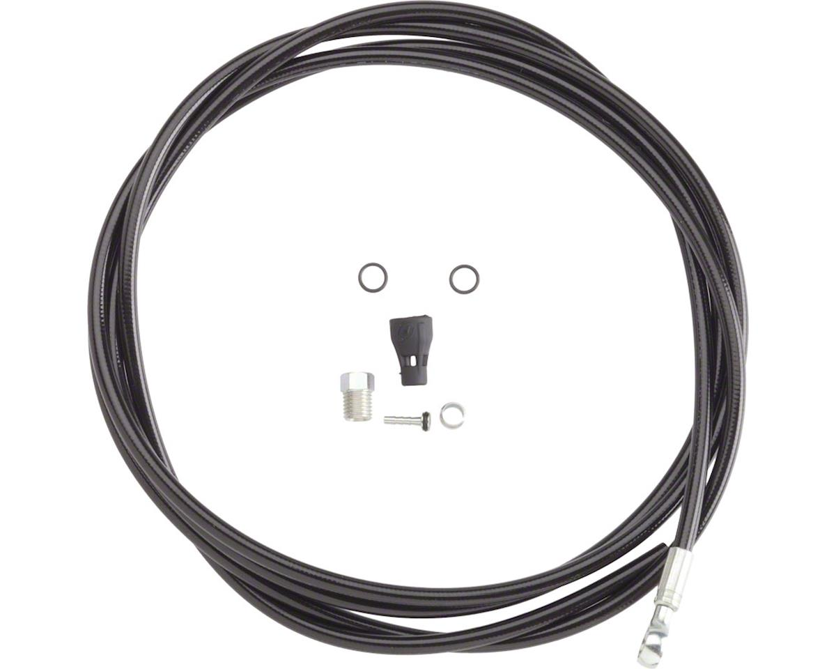 Tubing kit, R1/One/RX/Mega/RO (blk) - 2000mm